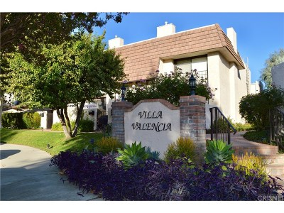 Woodland Hills Condo/Townhouse For Sale: 6266 Nita Avenue