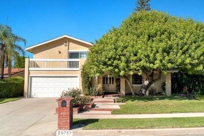 Chatsworth Single Family Home For Sale: 20757 Bermuda Street