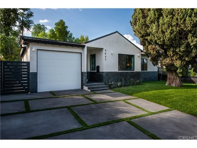 Encino Single Family Home For Sale: 5843 Balcom Avenue