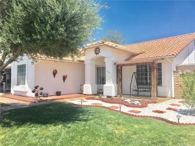 Rosamond Single Family Home For Sale: 3664 Scherer Drive