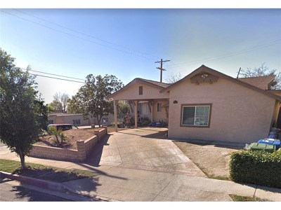San Fernando Single Family Home For Sale: 12821 Bromont Avenue