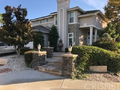 Stevenson Ranch Single Family Home For Sale: 25502 Wilde Avenue