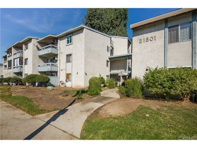 Canoga Park Condo/Townhouse For Sale: 21801 Roscoe Boulevard #135