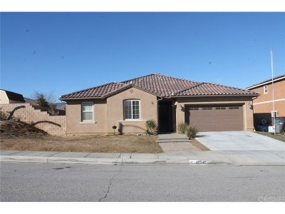 Lancaster Single Family Home For Sale: 42547 Camden Way