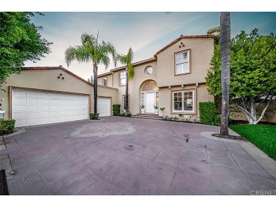 Calabasas Single Family Home For Sale: 3442 Malaga Court