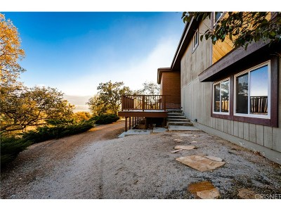 Tehachapi Single Family Home Active Under Contract: 20901 Jury Street