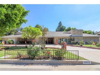 Porter Ranch Single Family Home For Sale: 18912 San Jose Street