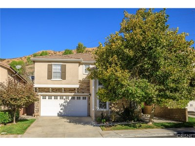 Saugus Single Family Home For Sale: 28667 Silverking Trails