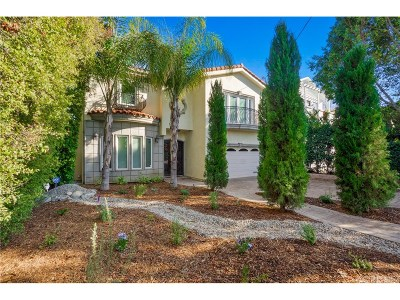 Encino Single Family Home For Sale: 4946 Haskell Avenue