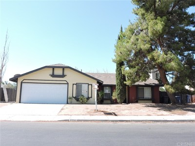 Palmdale Single Family Home For Sale: 3730 East Avenue R12