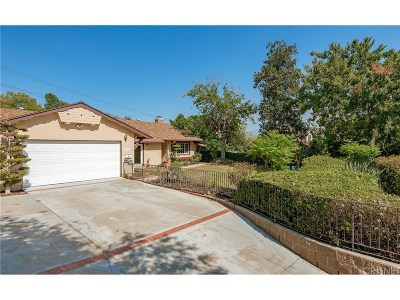 Granada Hills Single Family Home For Sale: 17119 Barneston Street