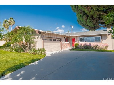 Granada Hills Single Family Home For Sale: 16823 Lahey Street