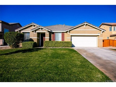 Rosamond Single Family Home For Sale: 2343 Travertine Street