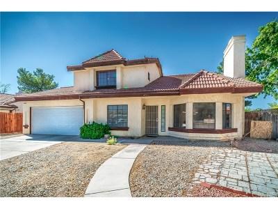 Palmdale Single Family Home For Sale: 37753 Smoke Tree Street