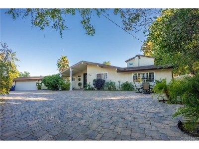 Woodland Hills CA Single Family Home For Sale: $1,250,000