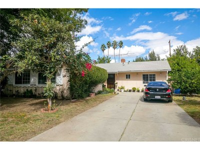 Canoga Park Single Family Home For Sale: 22235 Wyandotte Street