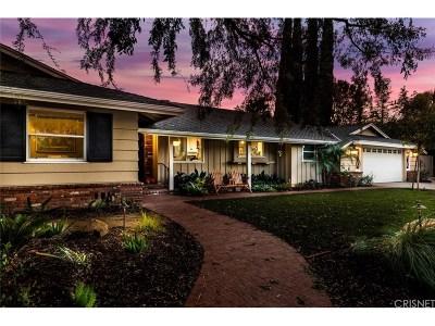 Encino Single Family Home For Sale: 17634 Weddington Street