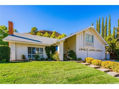 Calabasas Single Family Home Sold: 27061 Esward Drive