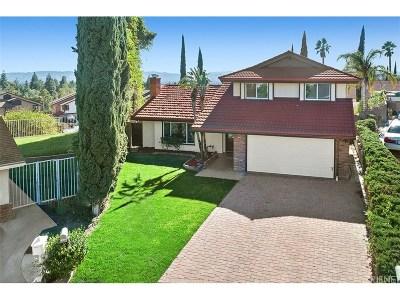 Porter Ranch Single Family Home For Sale: 18320 Ankara Court