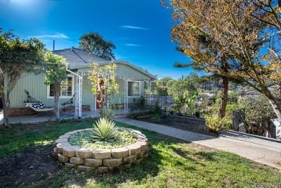 Echo Park Single Family Home For Sale: 1556 Avalon Street
