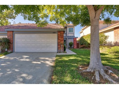 Canyon Country Condo/Townhouse For Sale: 28843 Marilyn Drive