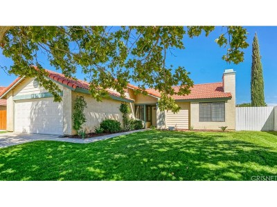 Palmdale Single Family Home For Sale: 3525 Southview Court