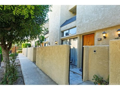 Burbank Condo/Townhouse Active Under Contract: 1008 West Riverside Drive #36