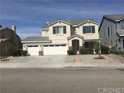 Lancaster Single Family Home For Sale: 44827 Normandy Lane