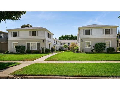 Sherman Oaks Condo/Townhouse For Sale: 152141 Dickens St.