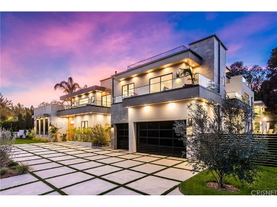 Encino Single Family Home For Sale: 4111 Valley Meadow Road