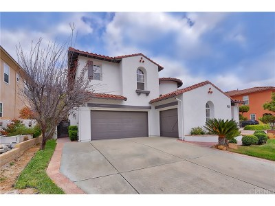 Stevenson Ranch Single Family Home For Sale: 26853 Chaucer Place