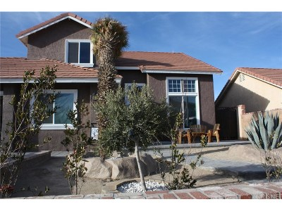Rosamond Single Family Home For Sale: 2603 Cold Creek Avenue