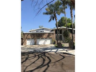 Woodland Hills Rental For Rent: 5448 Lockhurst Drive