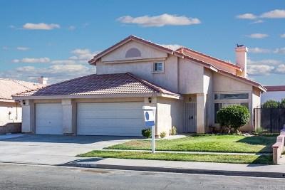 Rosamond Single Family Home For Sale: 2556 Starbrite Avenue