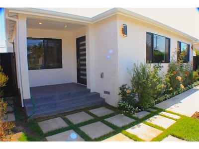 Culver City Single Family Home For Sale: 12032 Braddock Drive