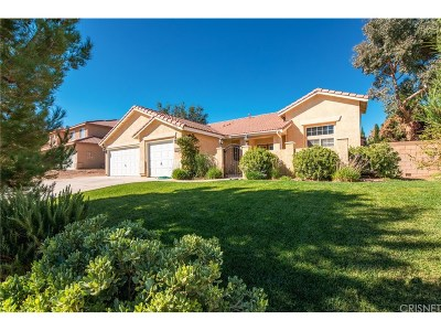 Lancaster Single Family Home For Sale: 42125 Shadow Hills Drive