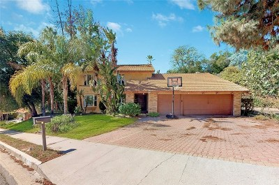 Calabasas Single Family Home For Sale: 22735 Brandywine Drive