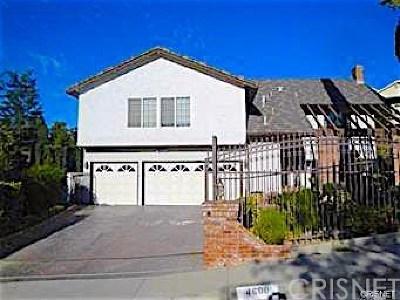 Woodland Hills Rental For Rent: 4600 Poe Avenue
