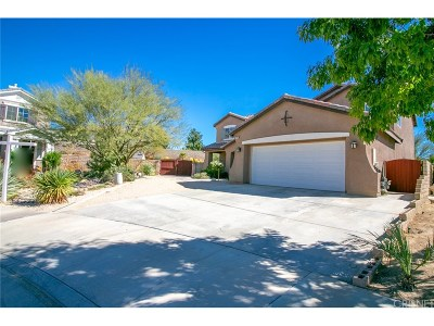 Quartz Hill Single Family Home For Sale: 4102 Glacier Place