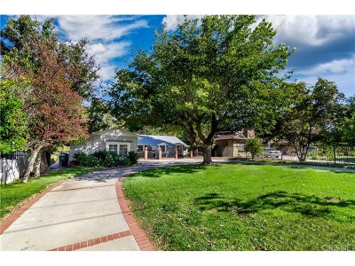 Woodland Hills Single Family Home For Sale: 5906 Oakdale Avenue