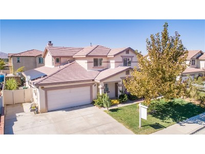 Palmdale Single Family Home For Sale: 37053 Populus Avenue