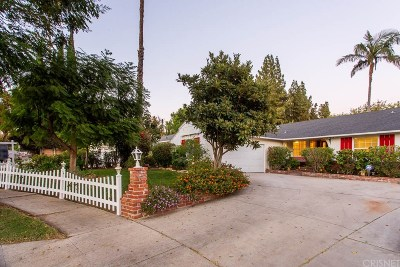 Northridge Single Family Home For Sale: 8306 Nestle Avenue