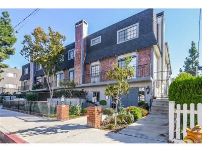 Sherman Oaks Condo/Townhouse For Sale: 15322 Weddington Street #8