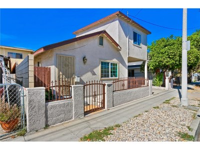 Los Angeles Single Family Home For Sale: 3807 Midland Street
