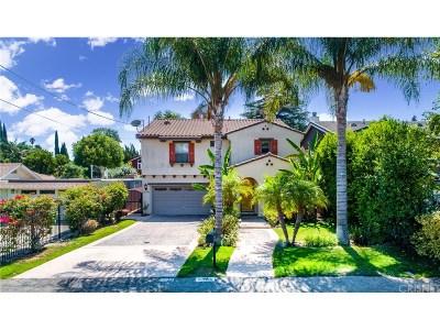 Studio City Single Family Home Active Under Contract: 12766 Hortense Street