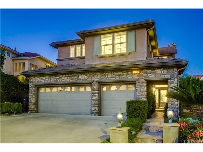 Porter Ranch Single Family Home For Sale: 20815 Vercelli Way