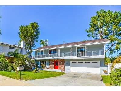 Newhall Single Family Home For Sale: 18801 Mountain Dale Court
