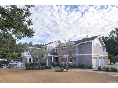 Agoura Hills Single Family Home For Sale: 2222 Triunfo Place
