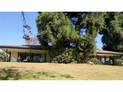 Camarillo Single Family Home For Sale: 1406 Fairway Drive