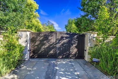 Valencia CA Single Family Home For Sale: $1,650,000